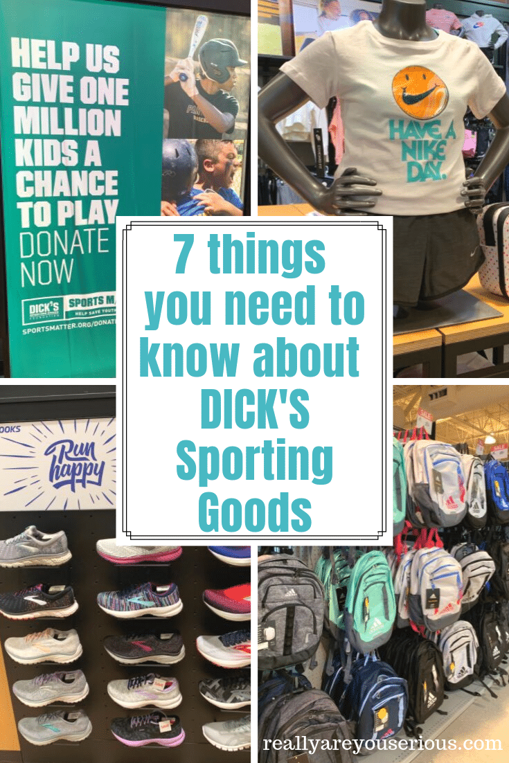 7 Things you need to know about DICK'S Sporting Goods for back to school and more