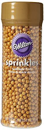 Wilton Sugar Pearls, Gold