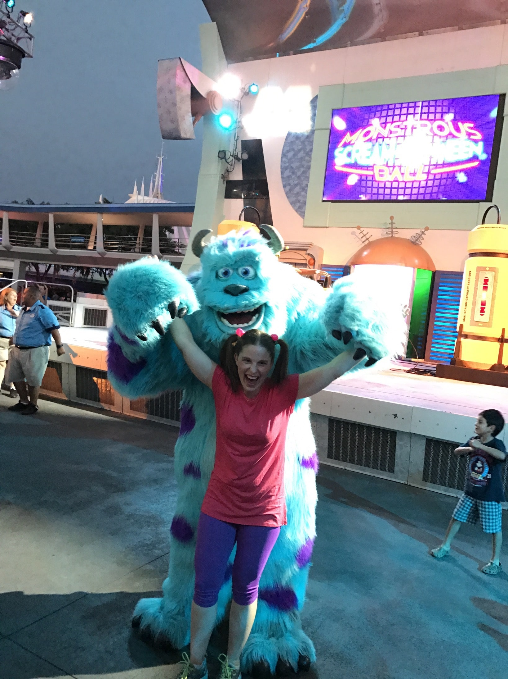 Boo Disney Bound Costume dancing with Sully