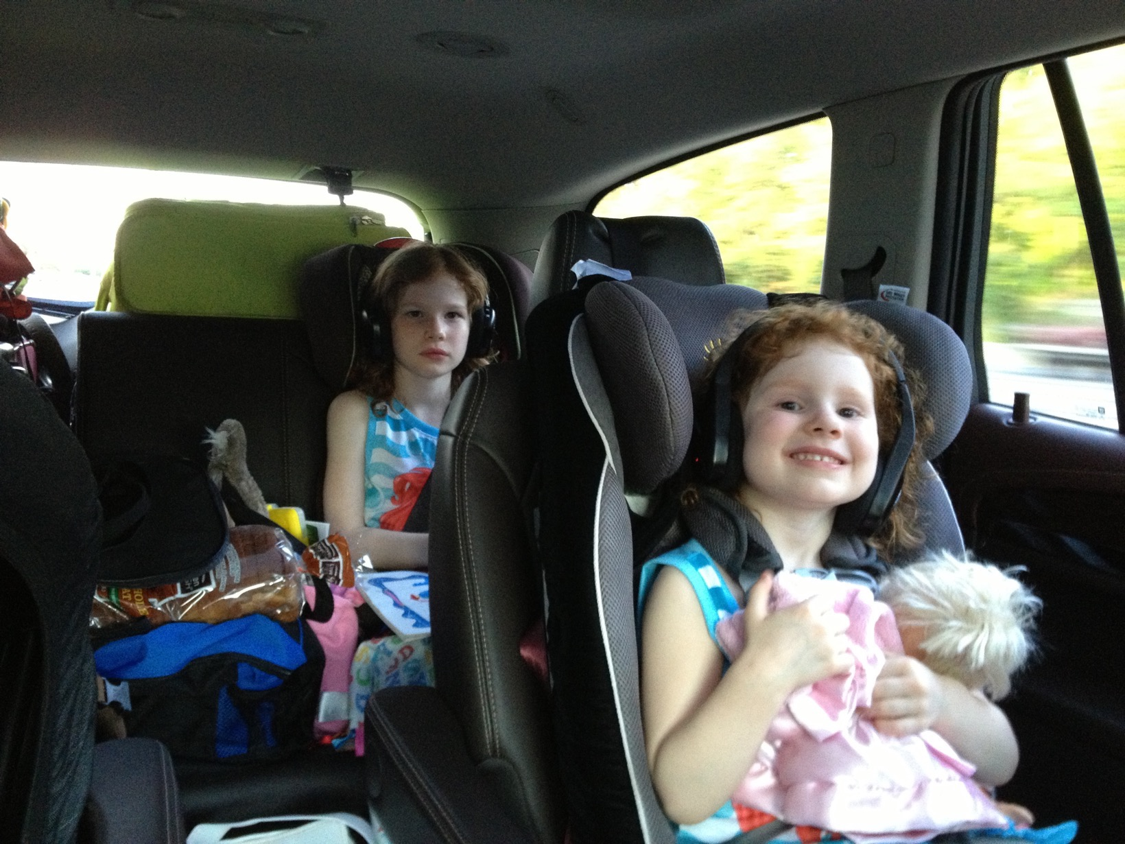 Disney in the car