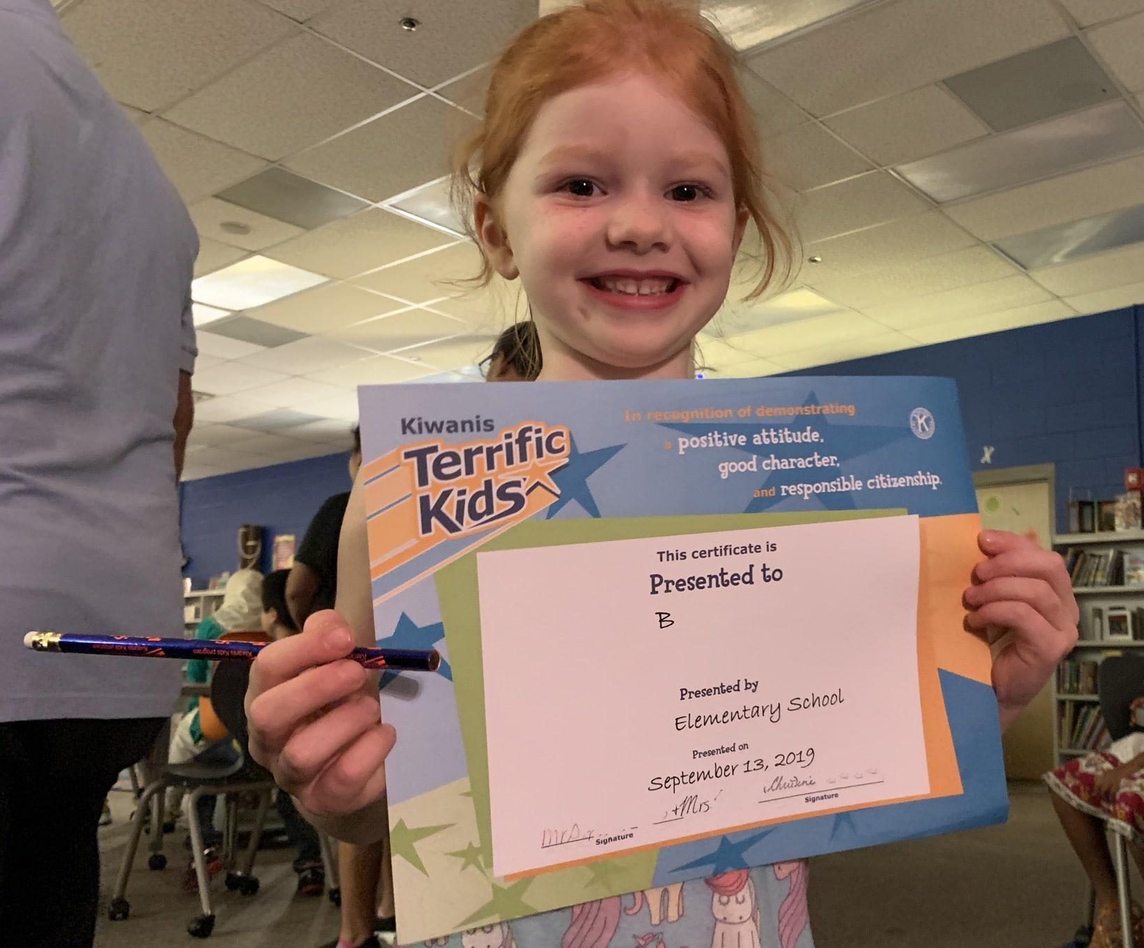 B Terrific Kid