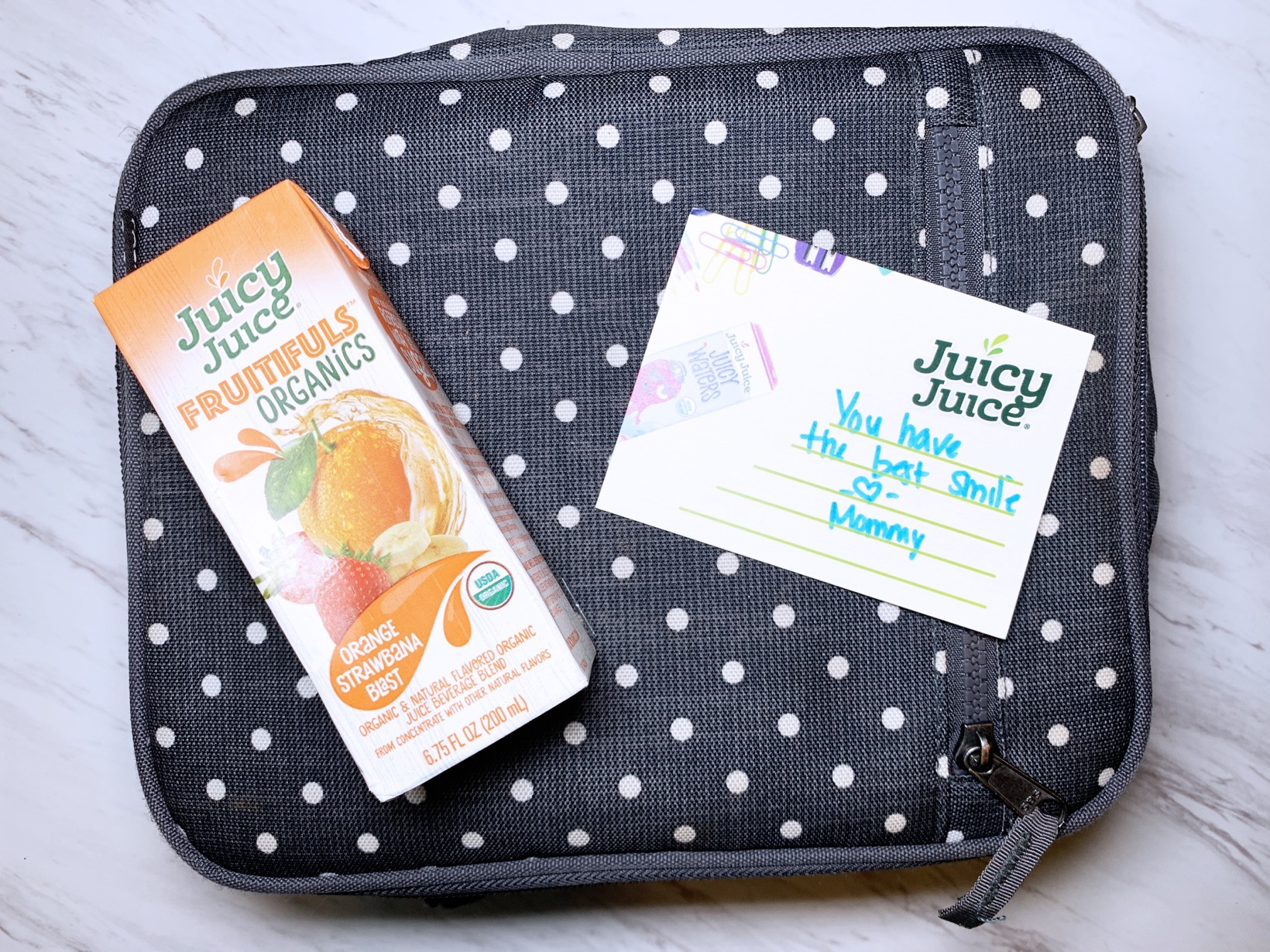 Juicy Juice Fruitifuls Organic and Lunch Notes