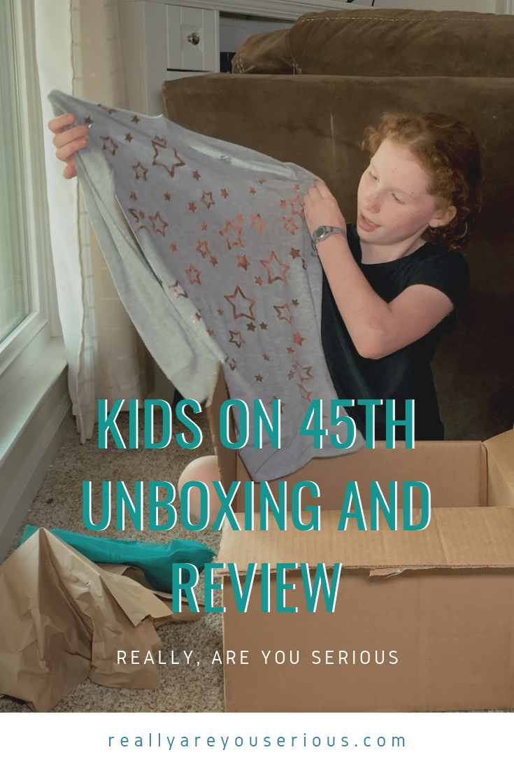 Kids on 45h review and unboxing