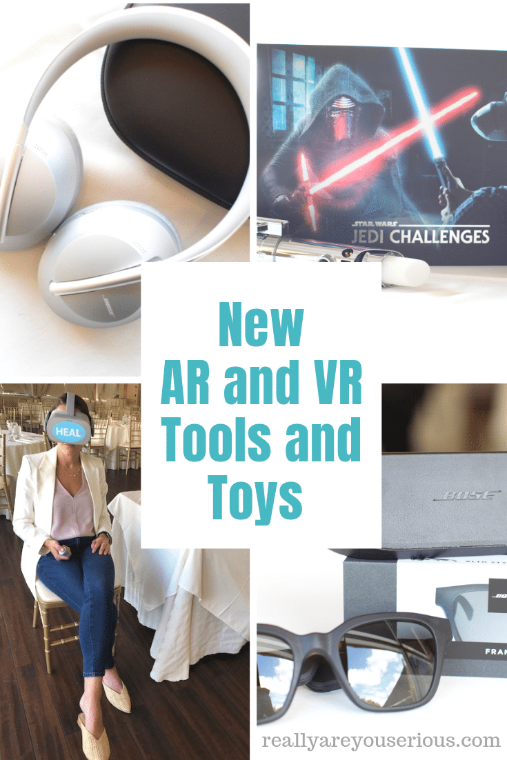 New AR and VR Tools and Toys