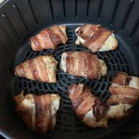 Air Fryer Bacon-Wrapped Chicken Breast Recipe (Gluten-Free and Dairy-Free)