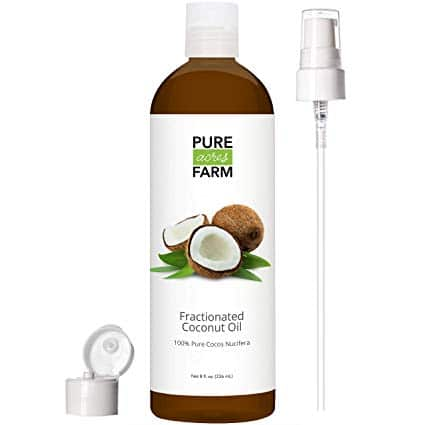 Fractionated Coconut Oil (Liquid) - with Pump
