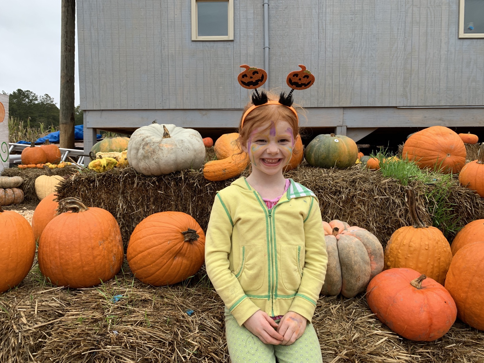 Pumpkin Patch picture 5 year old