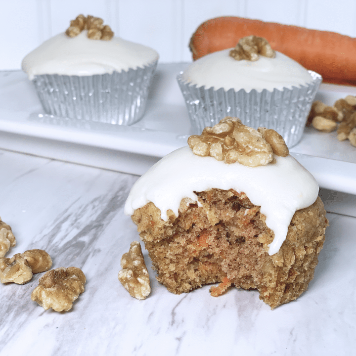 Gluten-Free Dairy-Free Carrot Cake with Dairy-Free Cream Cheese Frosting