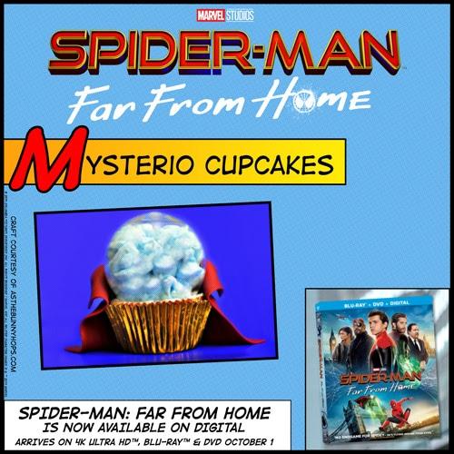 Mysterio cupcake