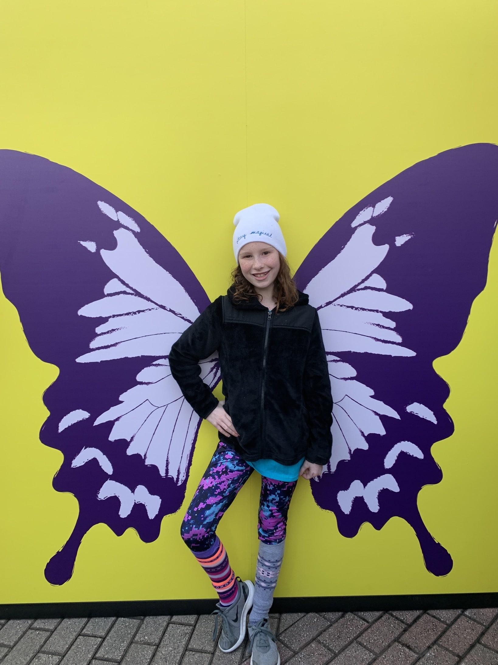 N butterfly 5K