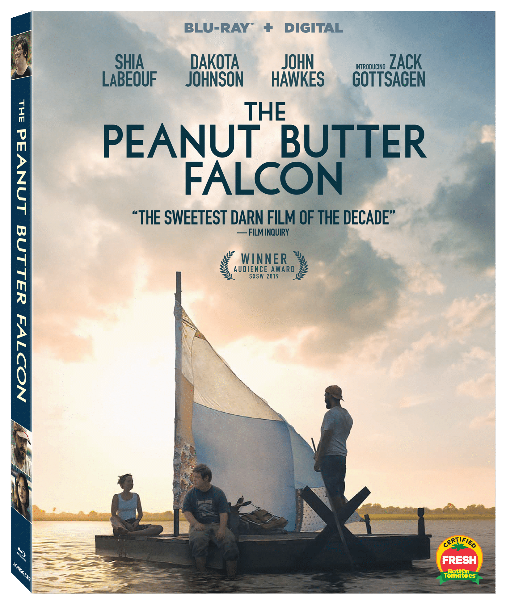 Peanut Butter Falcon Blu ray