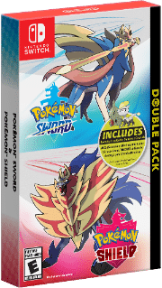 pokemon sword and pokemon shield double pack