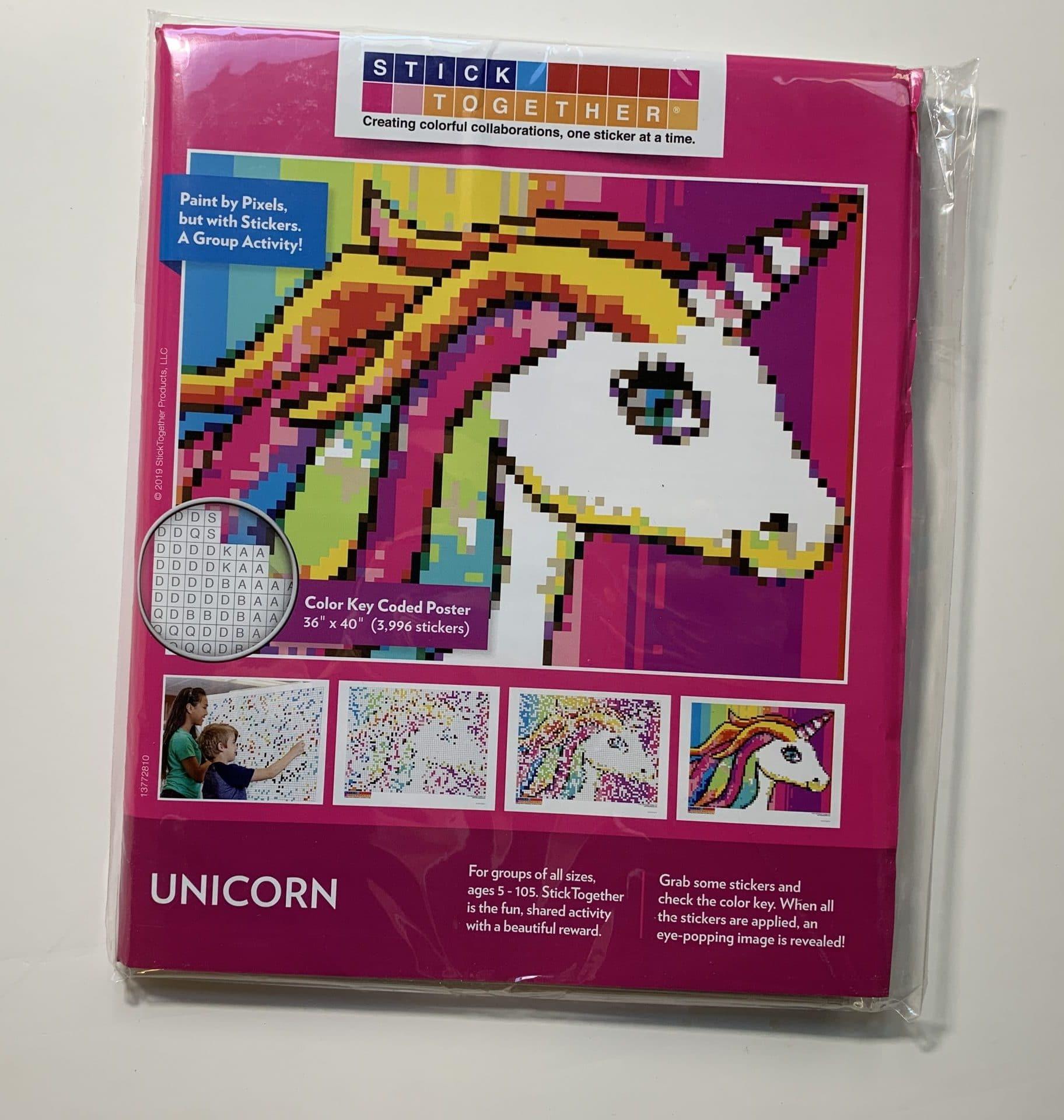 Stick Together unicorn mosaic