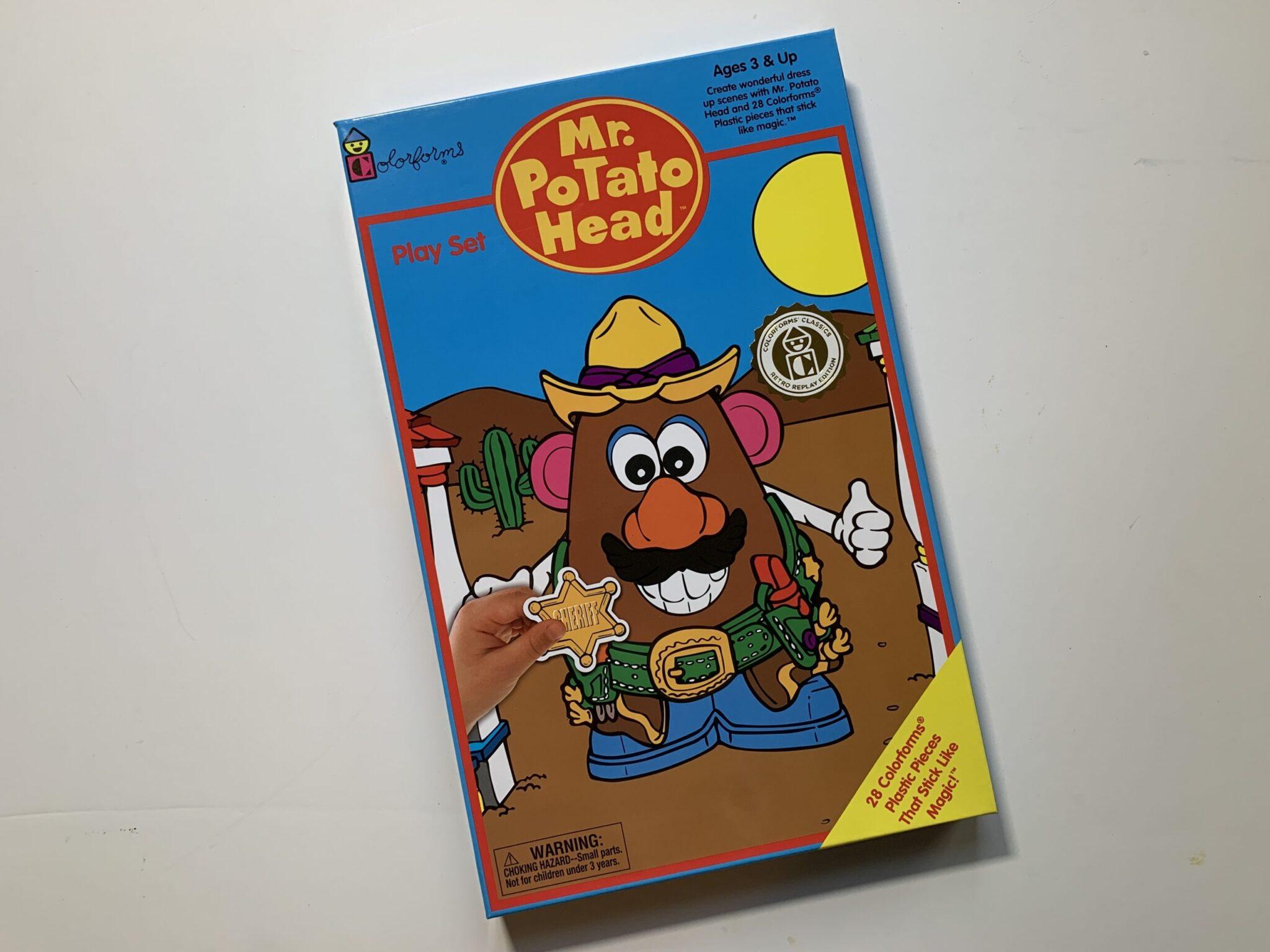 Mr. Potato Head Coloroforms Retro
