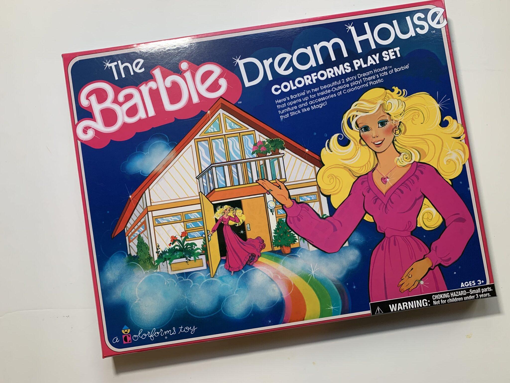 Barbie Dream House Coloroforms Retro