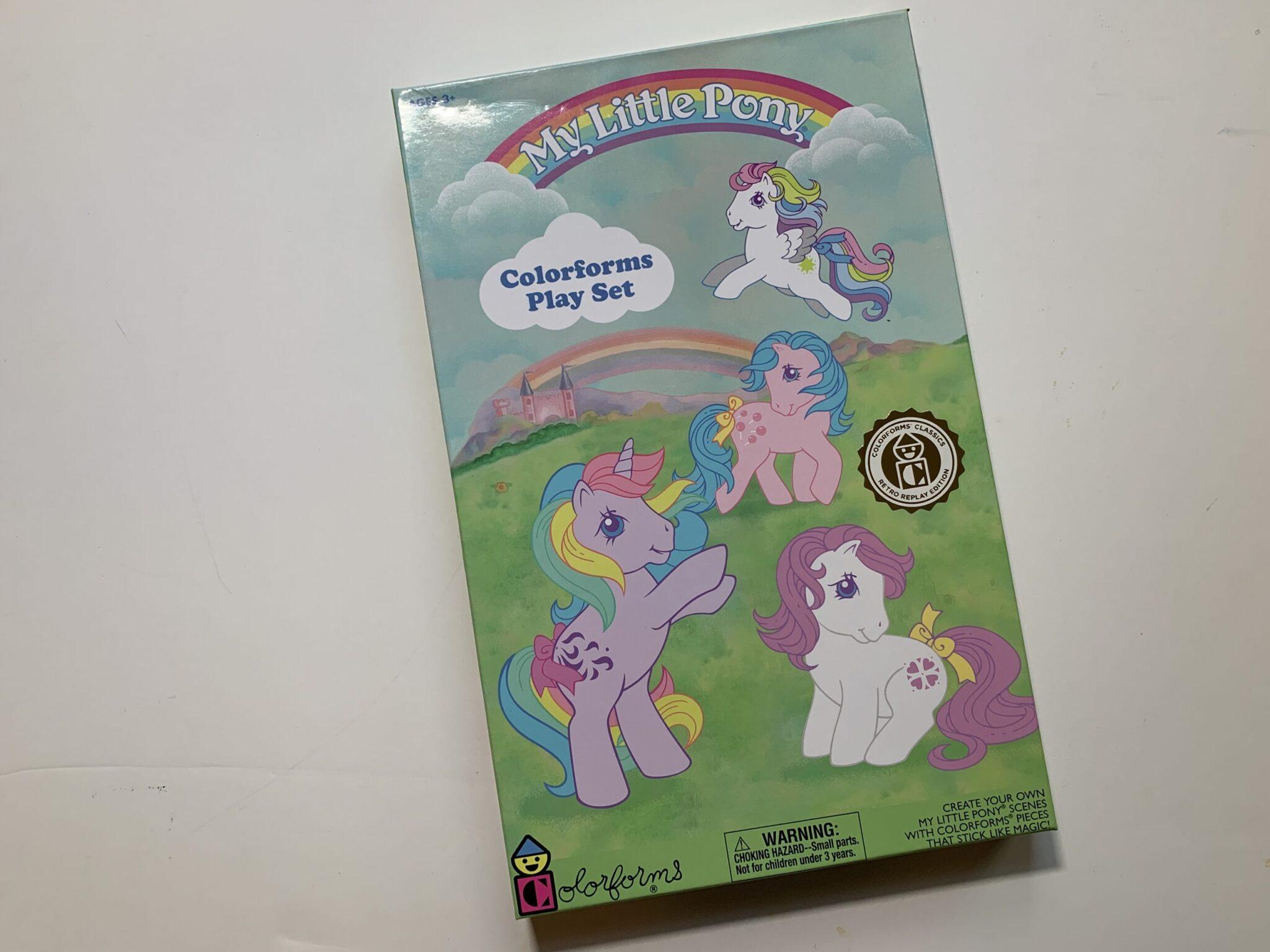 My Little Pony Coloroforms Retro