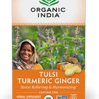 ORGANIC INDIA Tulsi Turmeric Ginger Tea (6 Pack)