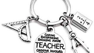 2. Math Teacher Keychain