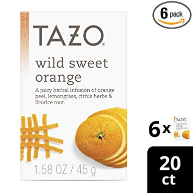 Tazo Wild Sweet Orange Caffeine-Free Tea