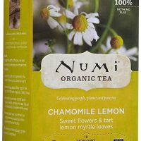 Numi Organic Tea Chamomile Lemon Herbal, 18 ct