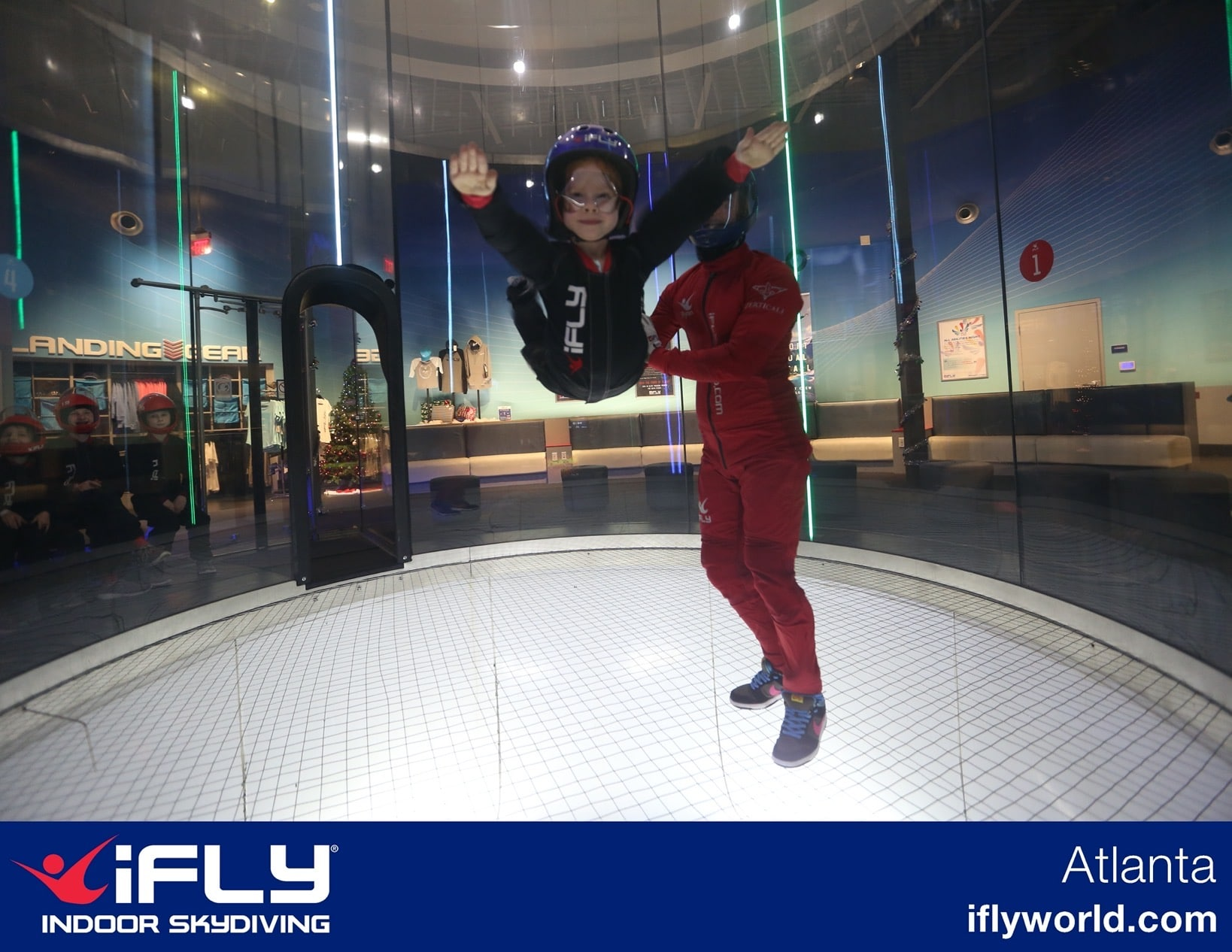 B at ifly family gift