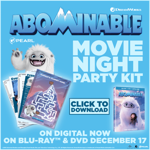 Abominable party kit