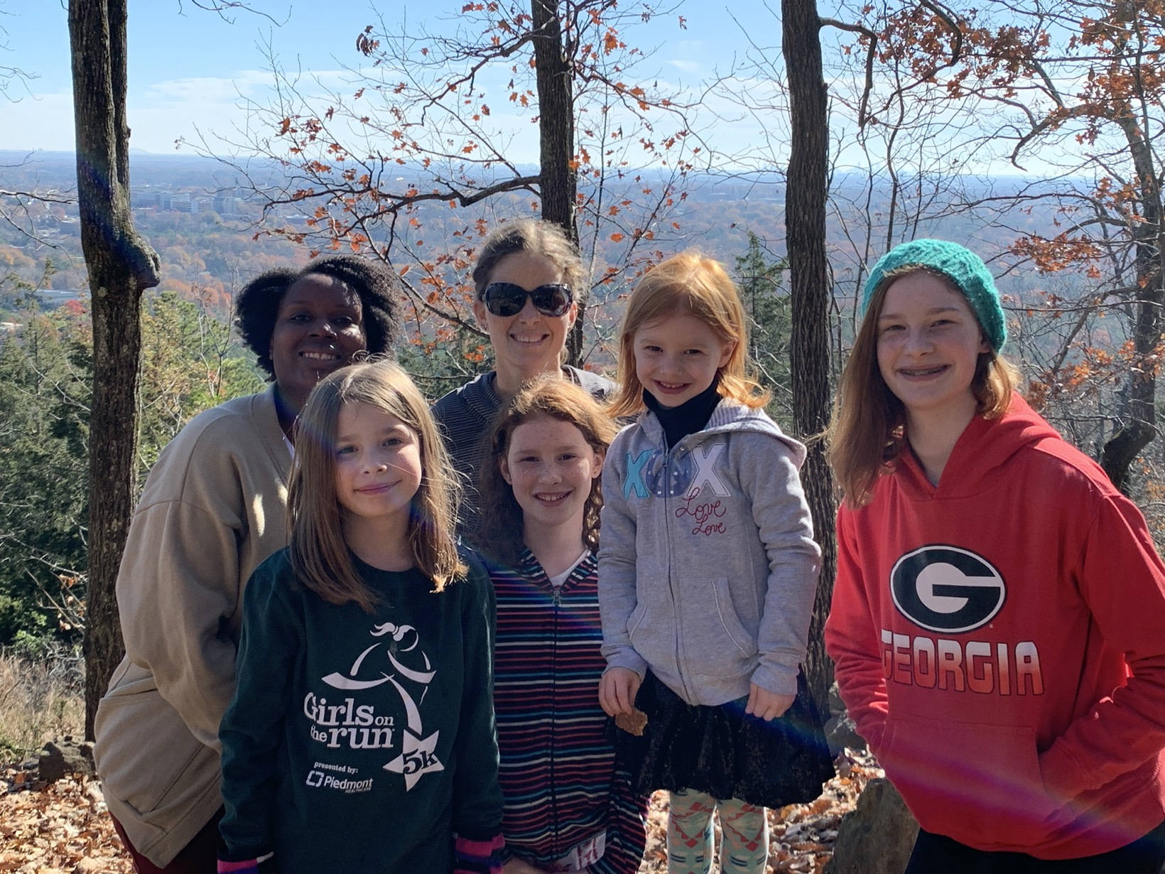 hiking kennesaw mountain