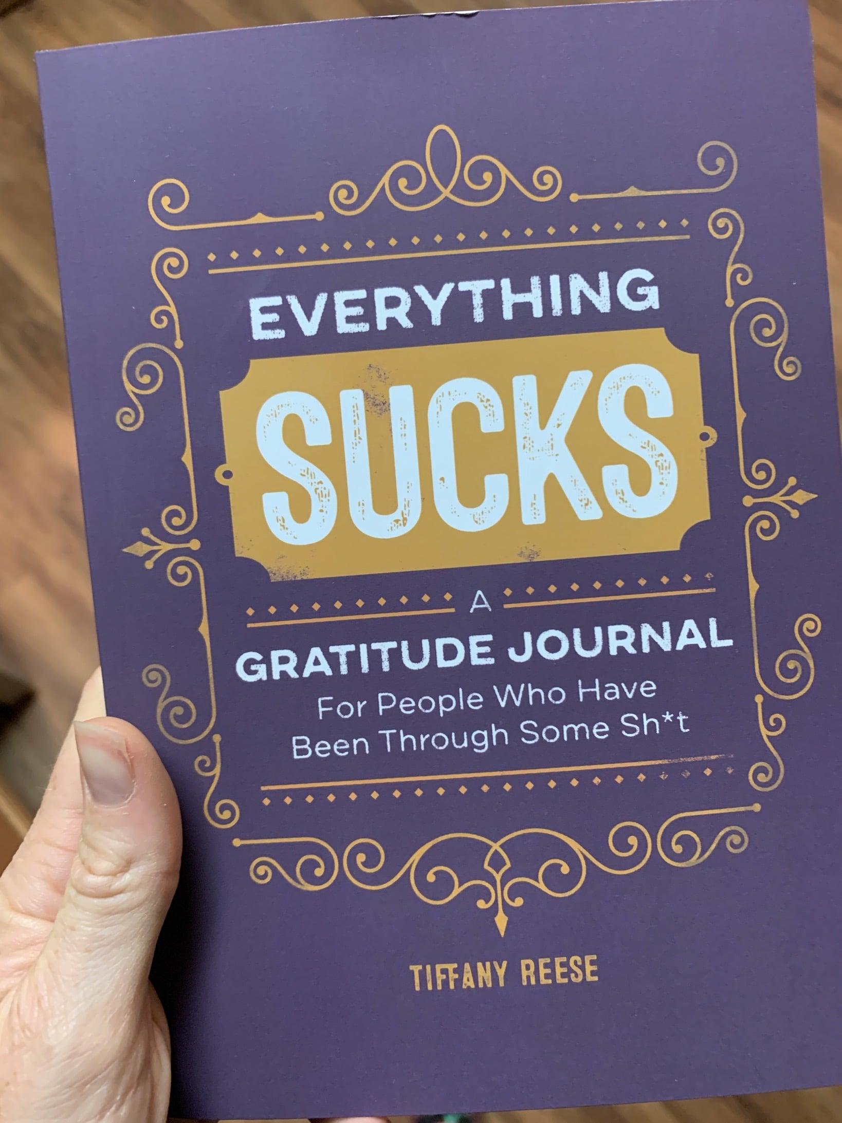 everything sucks gratitude journal