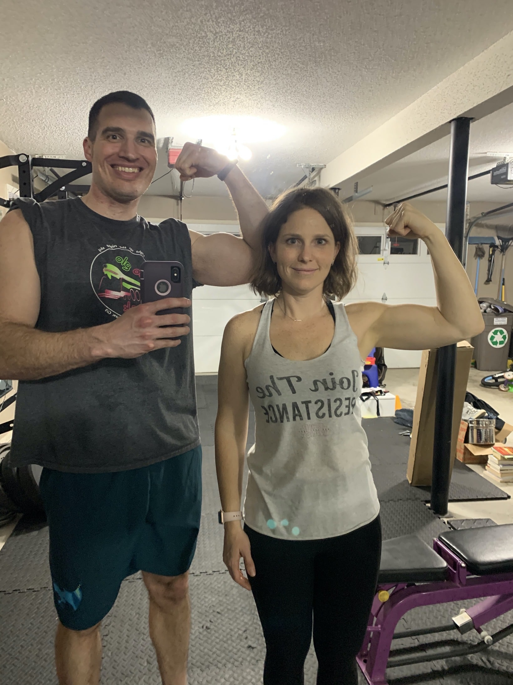 training my body with exercise