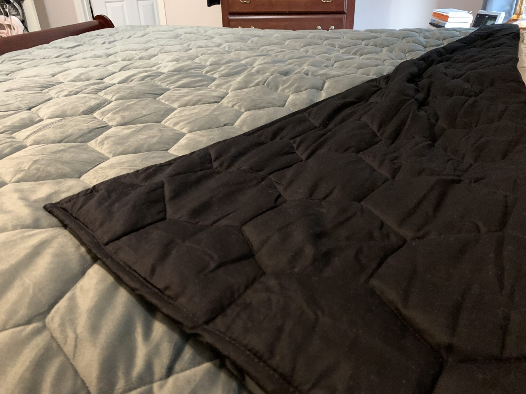 layla weighted blanket folded