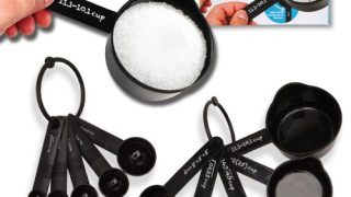 16. Math Measuring Cups and Spoons Set