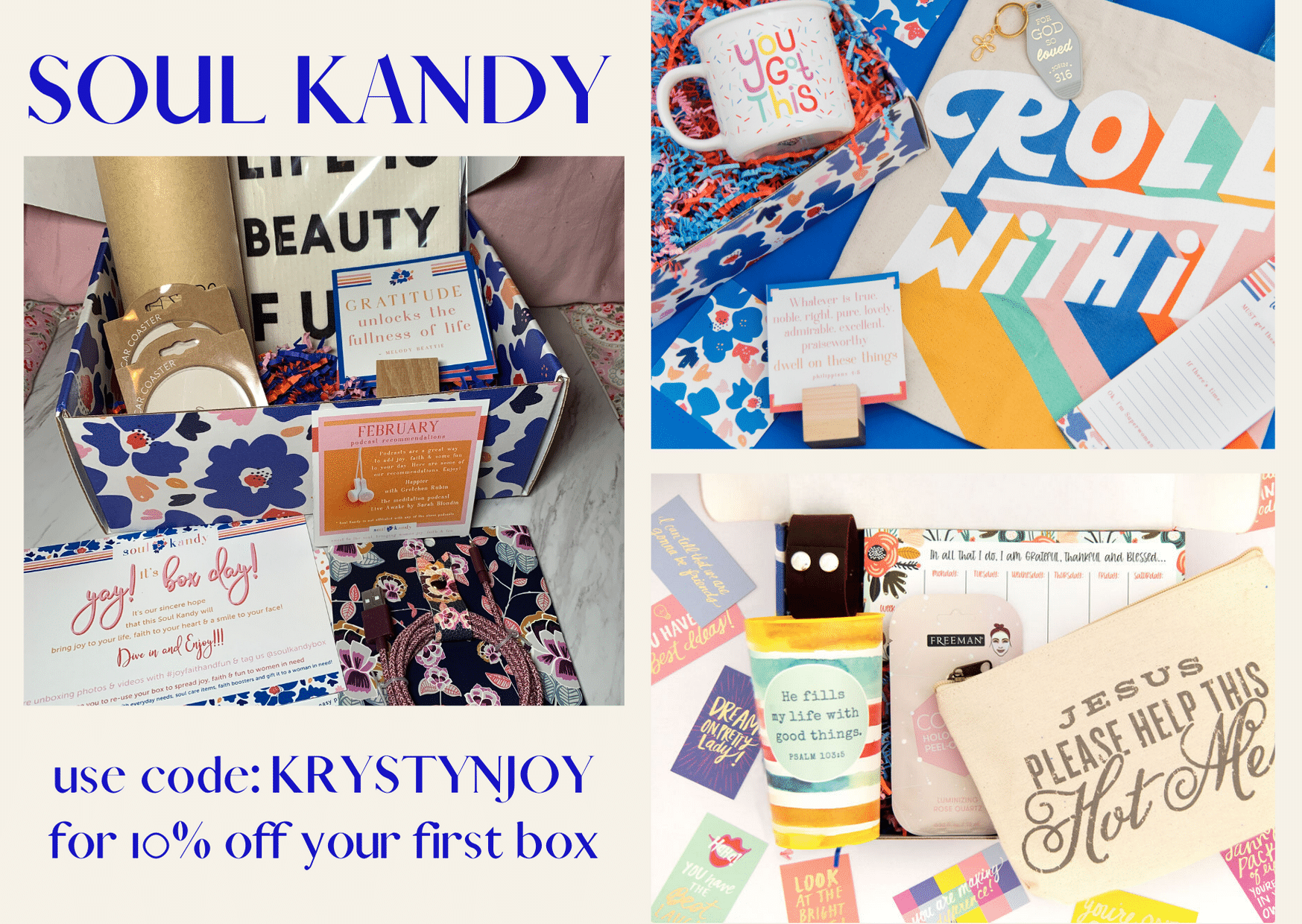 Soul Kandy subscription box collage