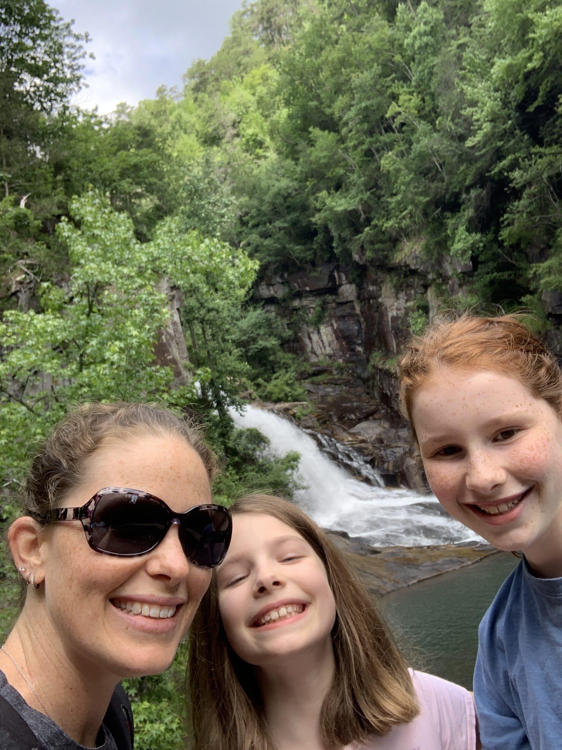 Bottom of Tallulah Gorge