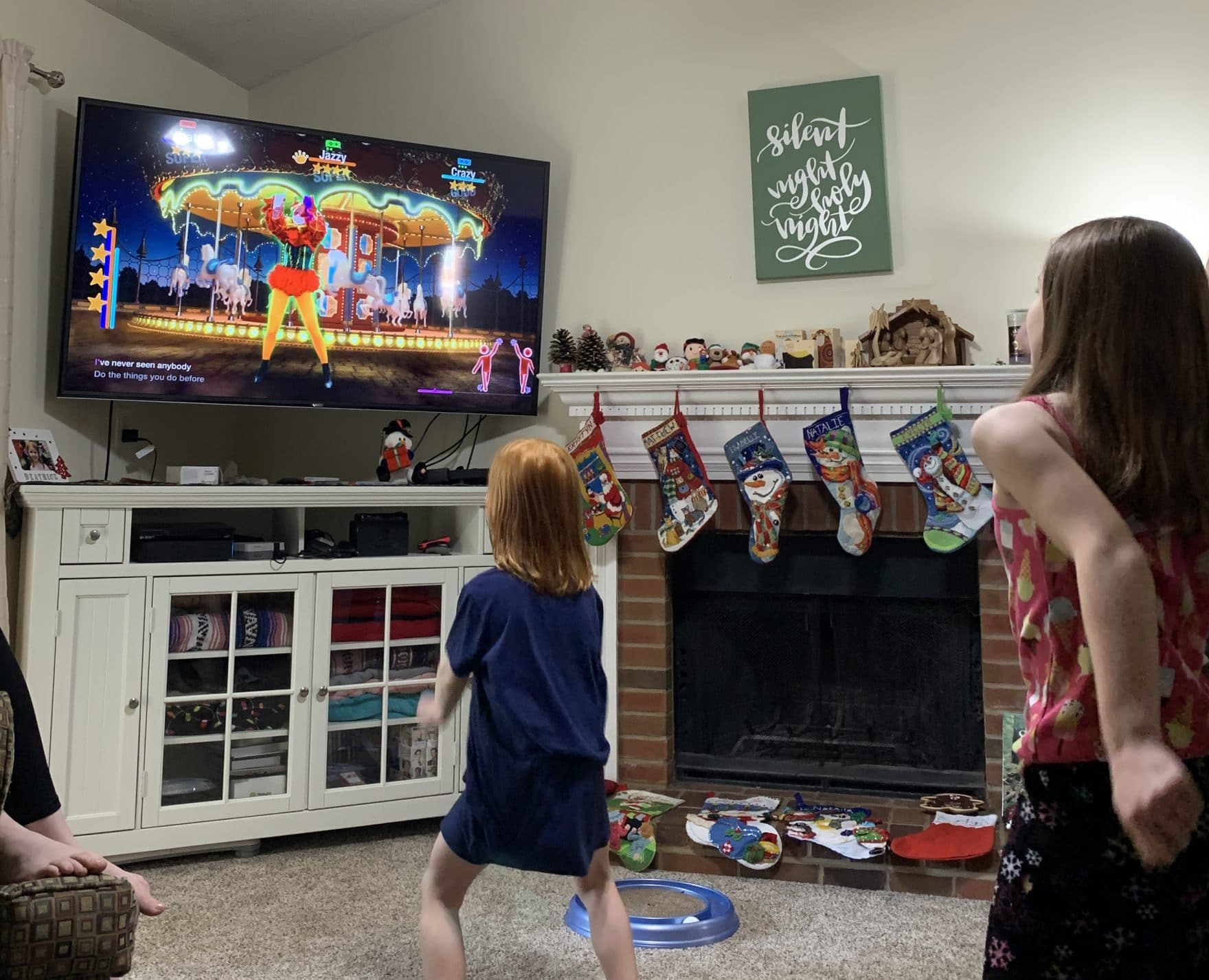 playing just dance 2021