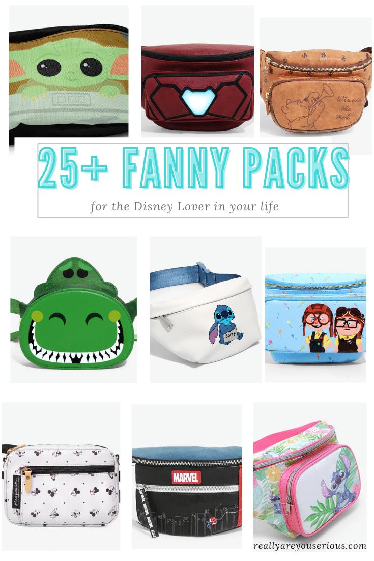 25 Fanny packs for disney lovers