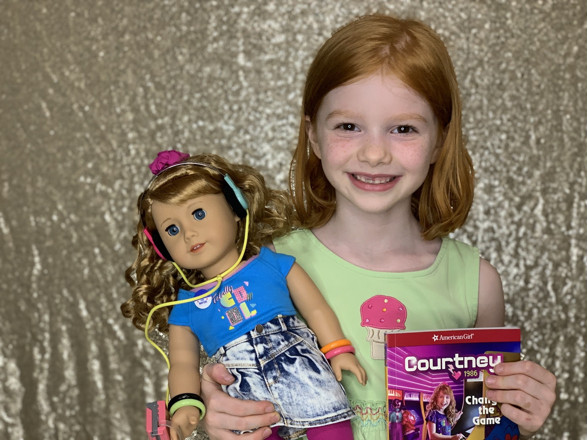 american girl doll courtney and book