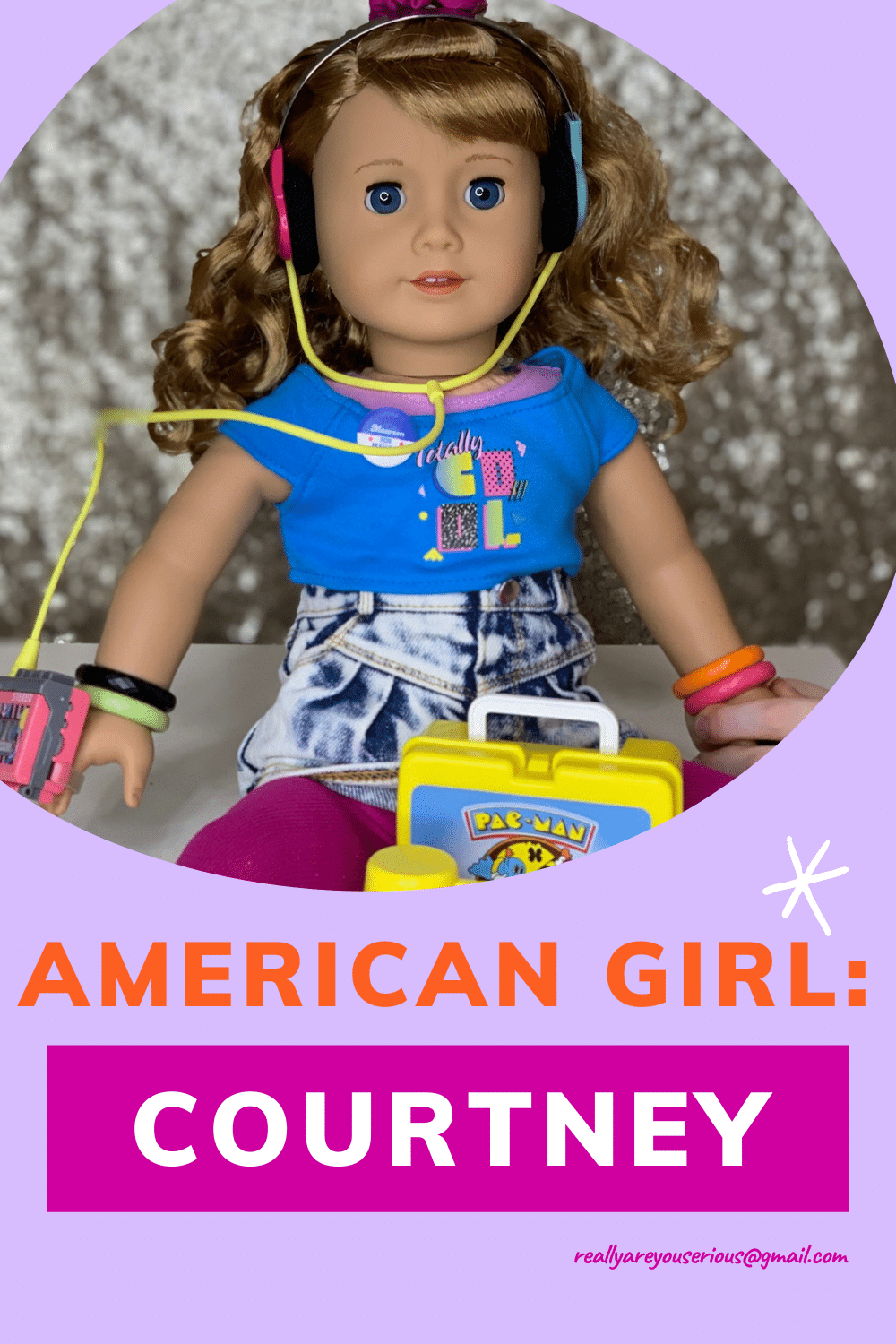 American Girl Courtney from 1986