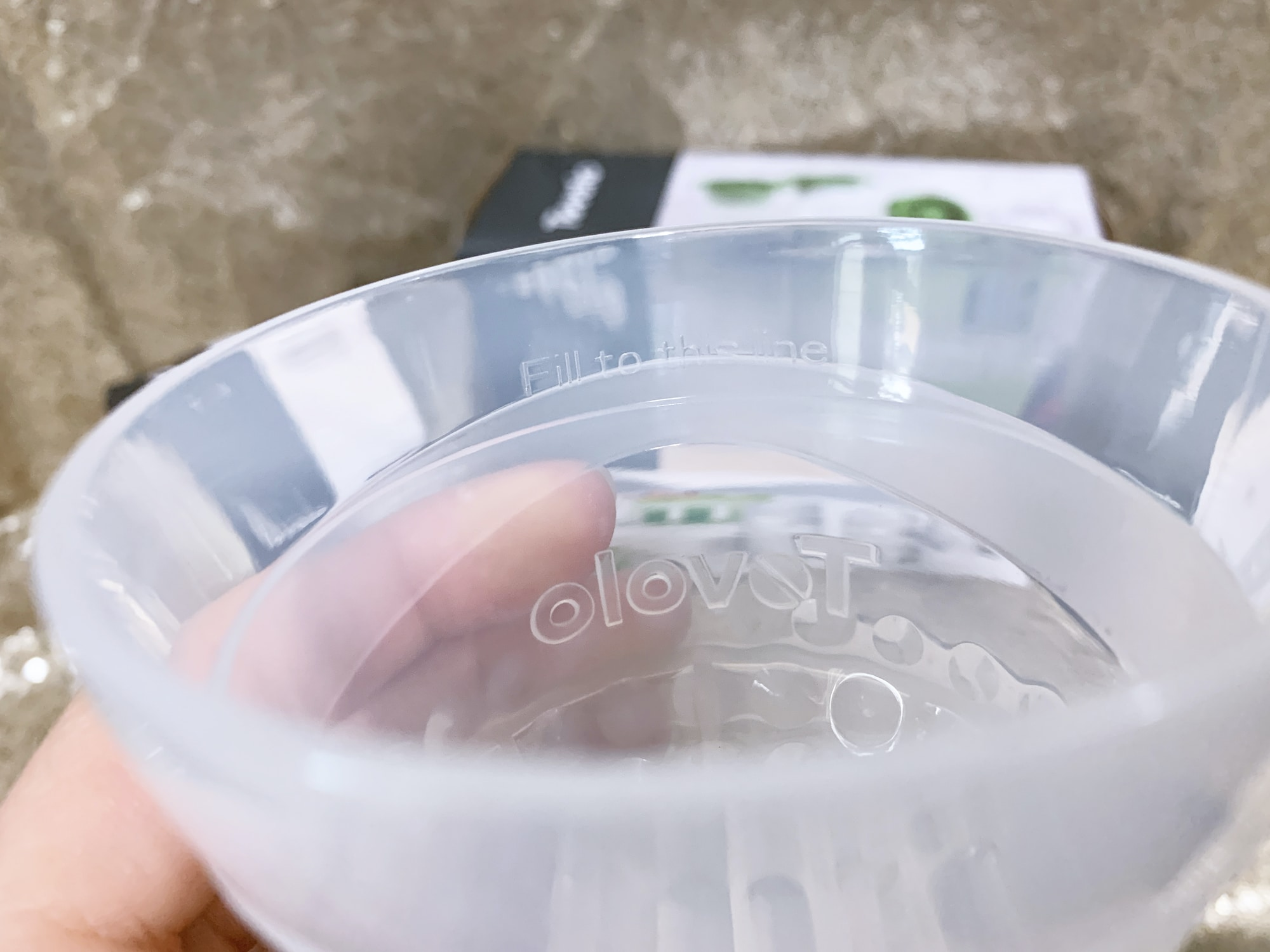 fill to line tovolo ice mold