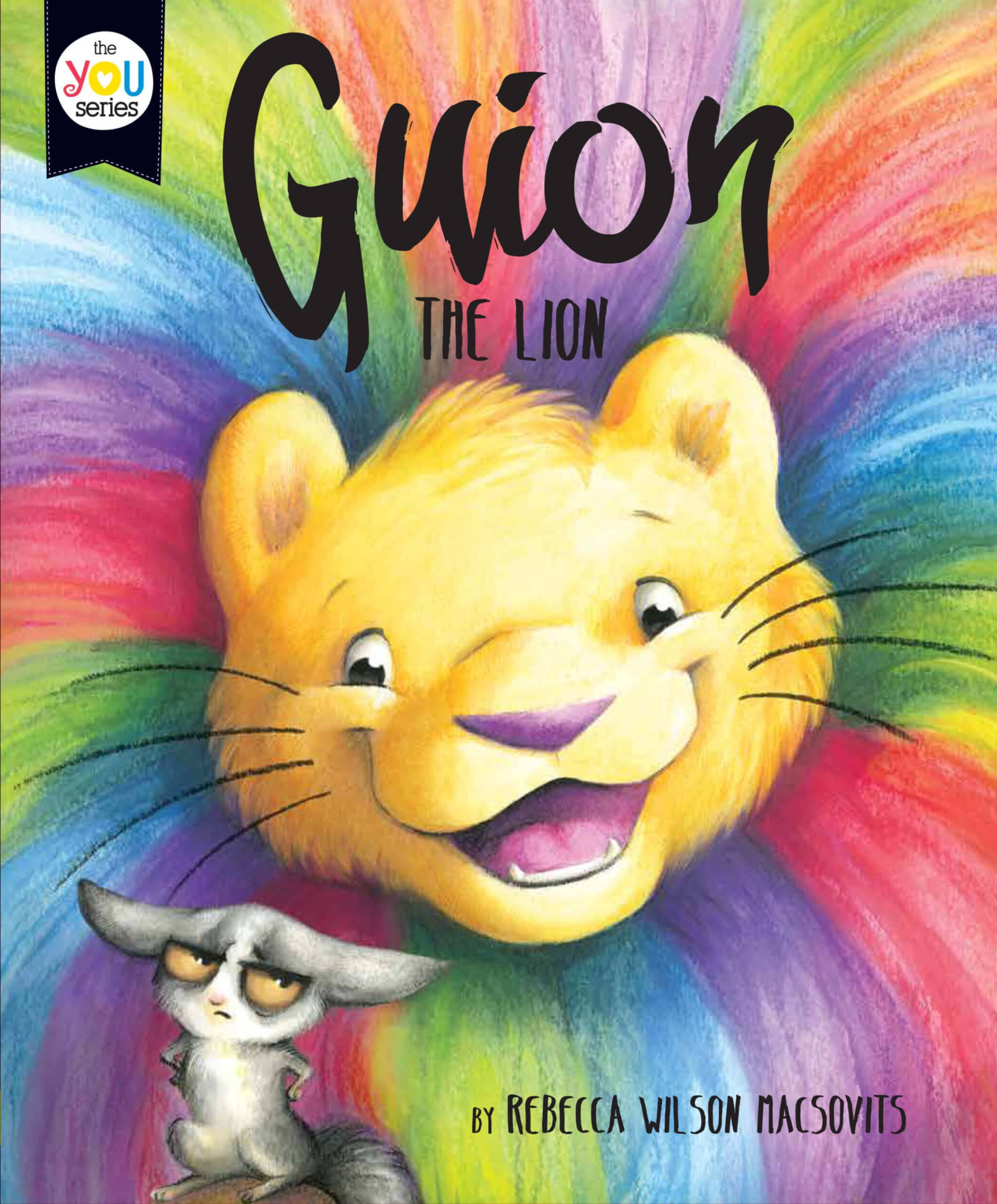 guion the lion book cover