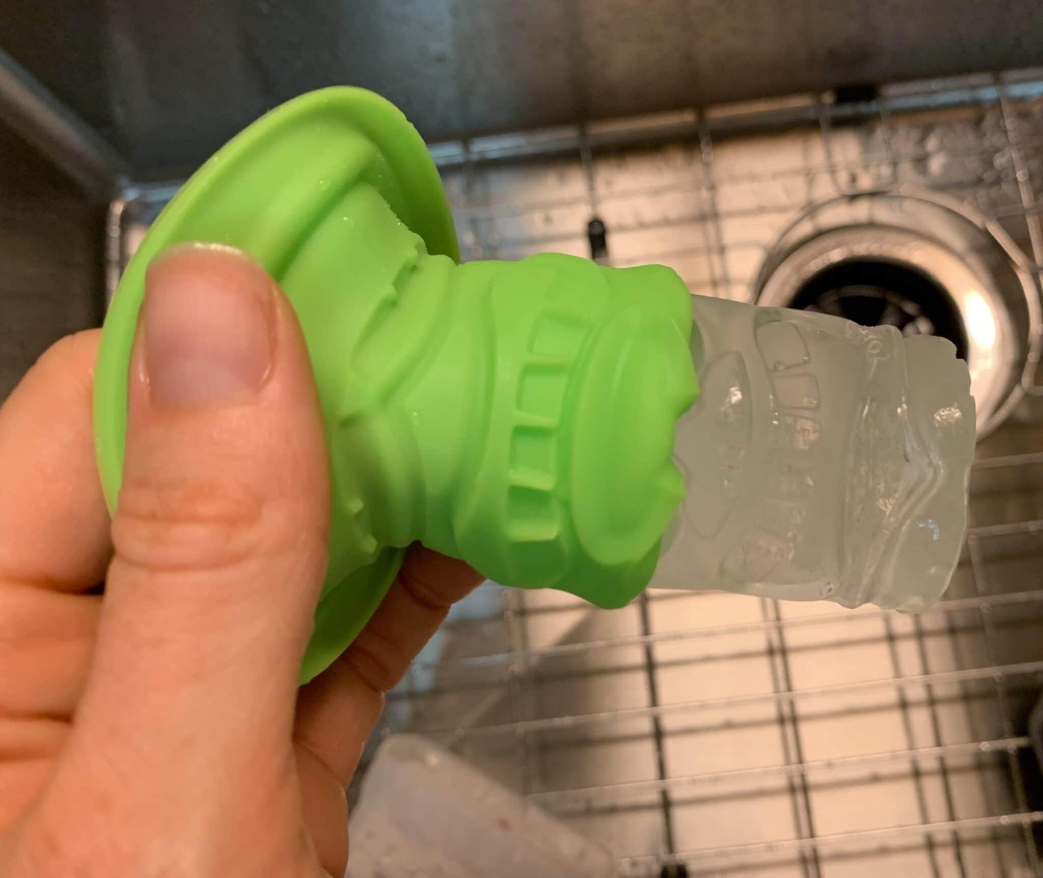 removing tiki ice
