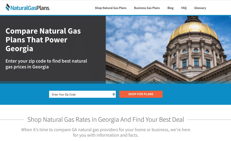 Natural Gas Plans Georgia