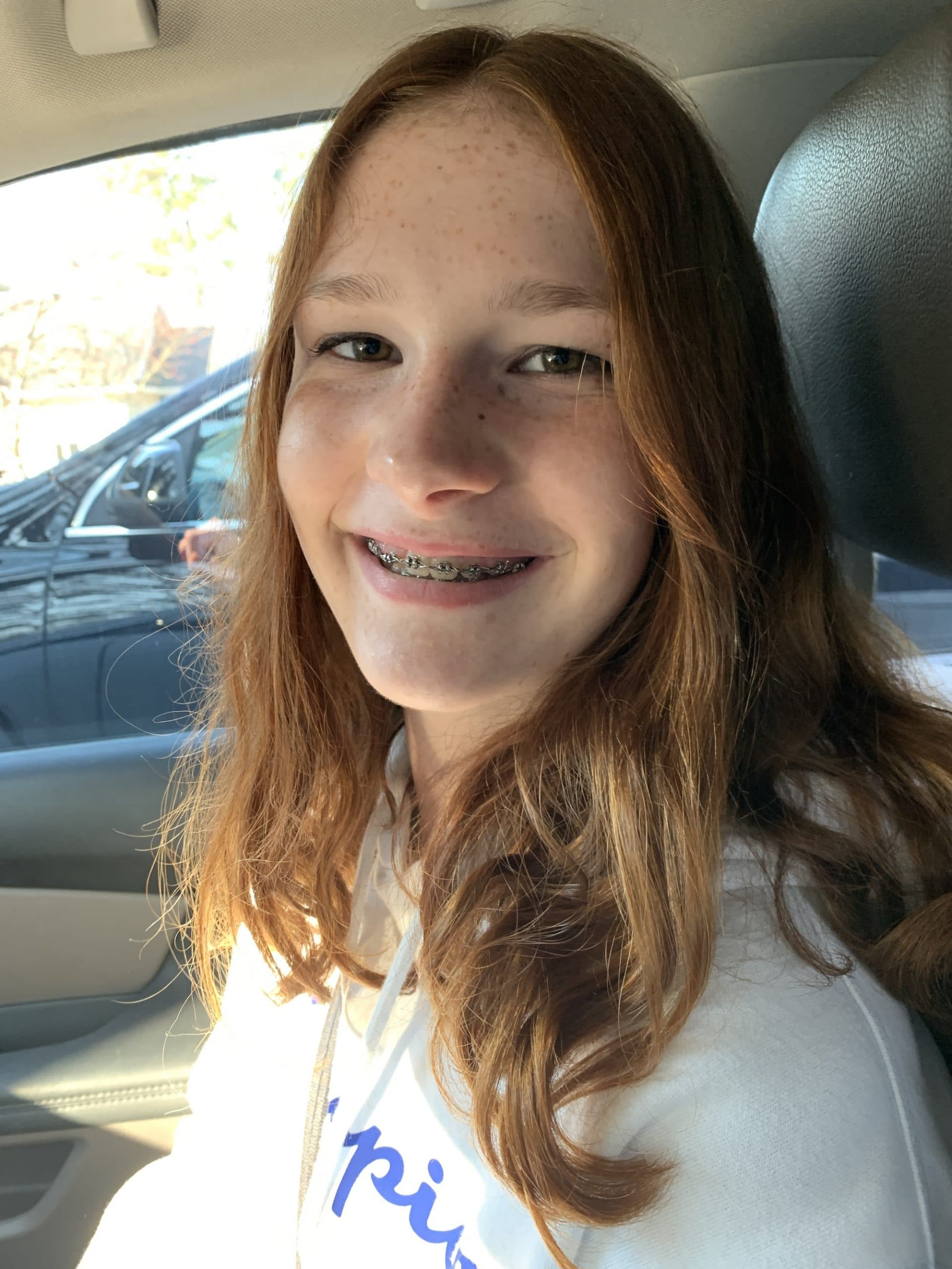 oldest last picture with braces