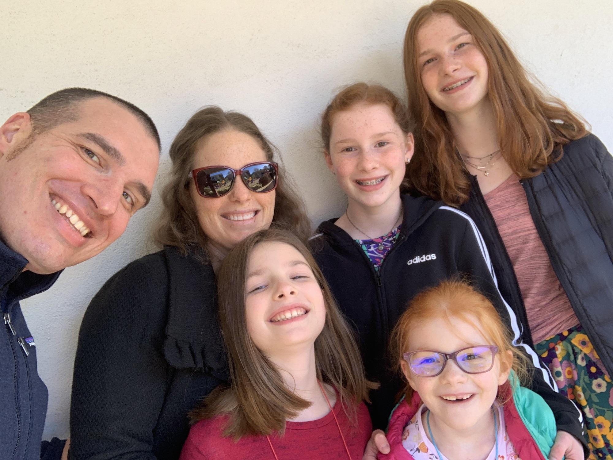 Easter Family selfie